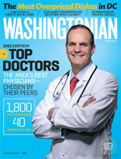 Dr. Choudhary Voted a Top Doctor in Washingtonian Magazine's 2012 poll