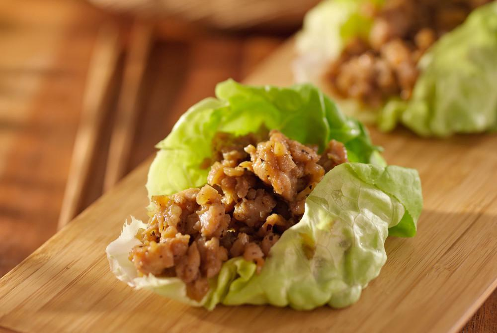 Chicken Lettuce Wraps Marin Weight Loss Wellness Weight Loss Centers