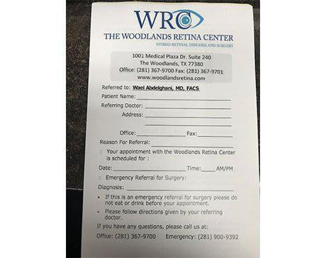 The Woodlands Retina Center