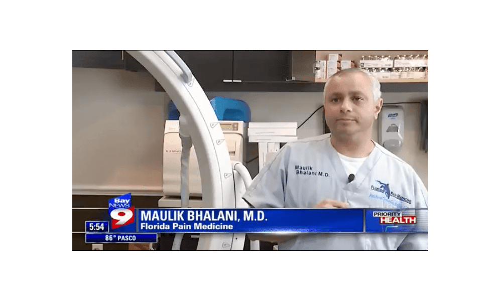 Bay News 9 - Cancer Pain Treatment - Interview with Dr  Maulik