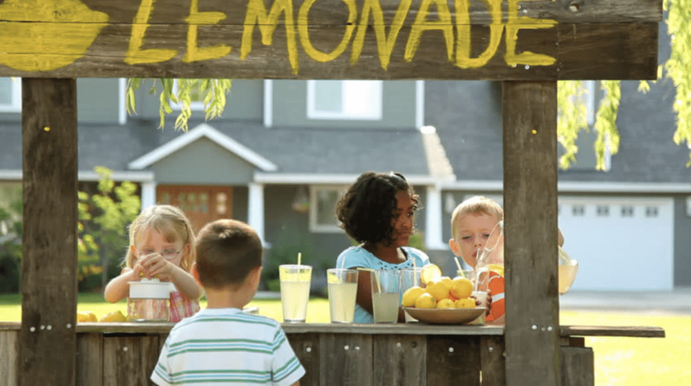 Lemonade Stands and Beyond: Outdoor project ideas for your
