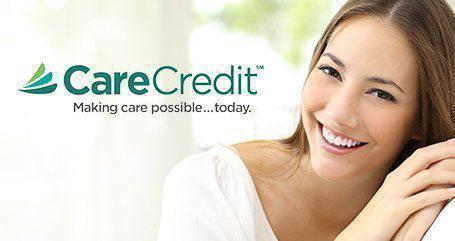 Get the dental care you need today with CareCredit! (June 2018)