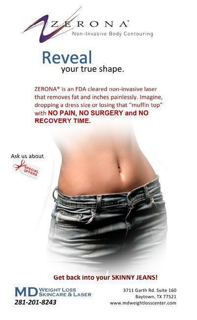 The Fda Just Approved A New Weight Management Time Com >> Low Level Laser Lipo Zerona Baytown Tx Md Weight Loss Skincare