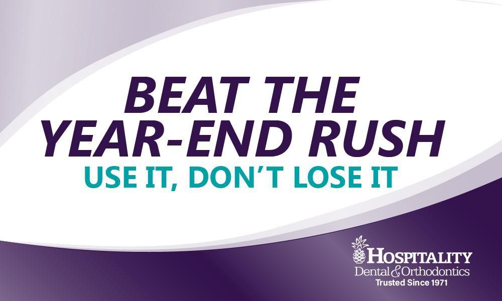Beat the year-end rush
