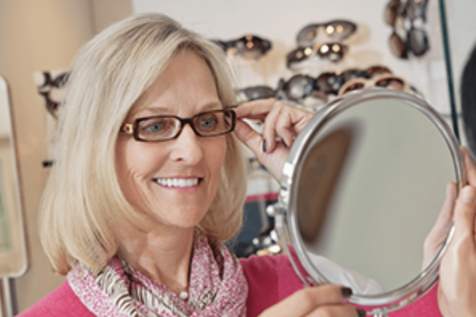 cd9c49575 Choosing the perfect eyeglass frames can be much harder than you think, as  there are several factors to consider. Style, shape, color, and material  all play ...