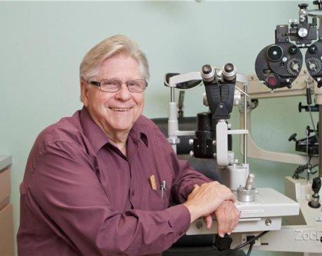 Dr. C. Gene Wilkins, Optometrist