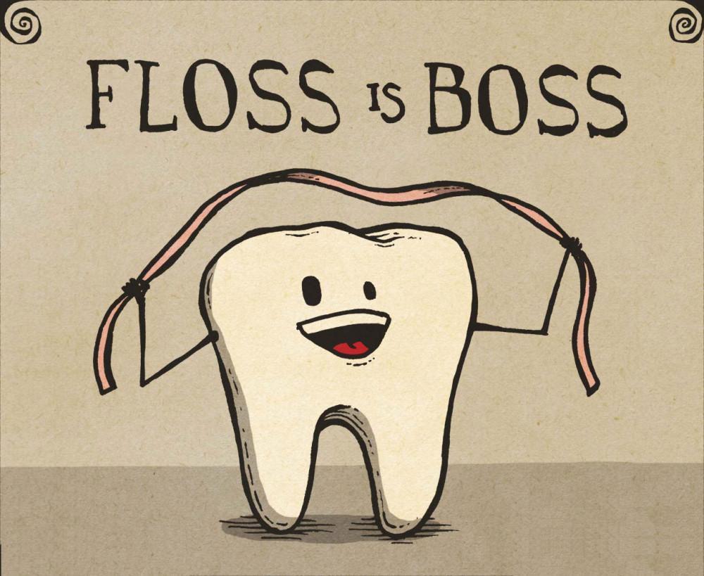 Floss is boss image