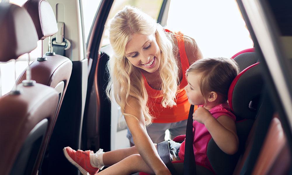 car safety child back seat