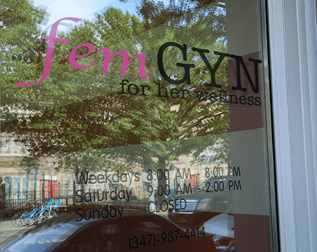FemGYN: For Her Wellness: Walk-In Gynecologic Urgent Care Centers