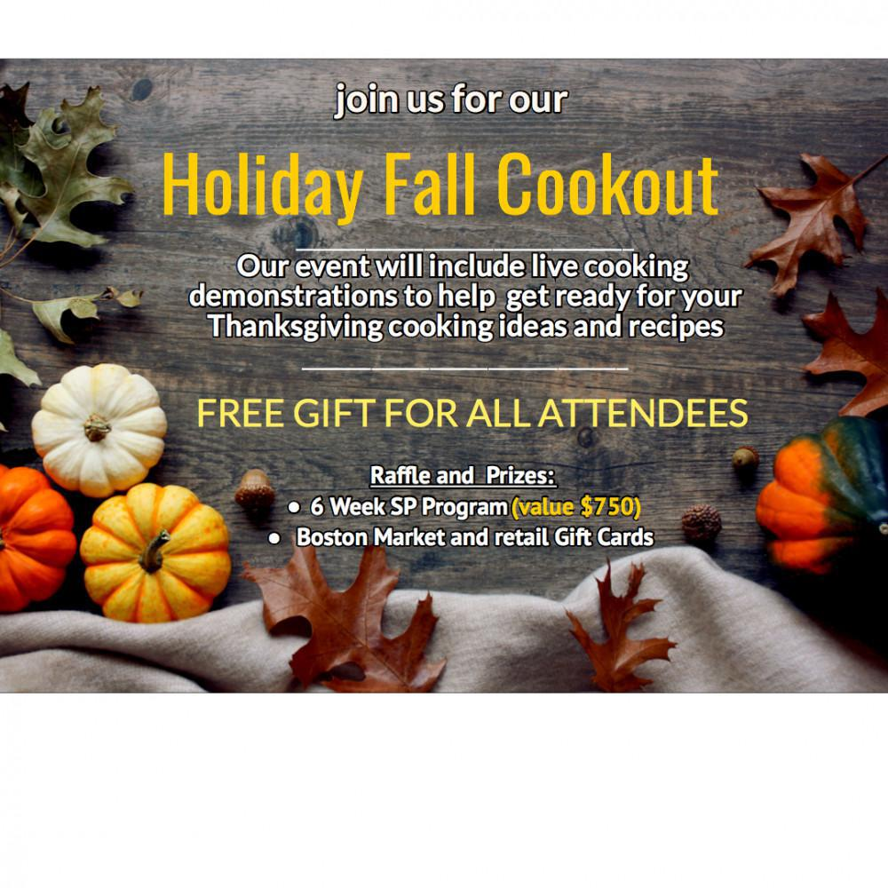 Holiday Fall Cookout Event