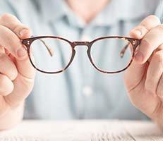 Prescription Glasses & Contact Lenses