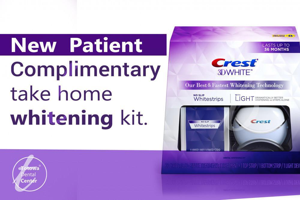 Complimentary Take Home Whitening Kit