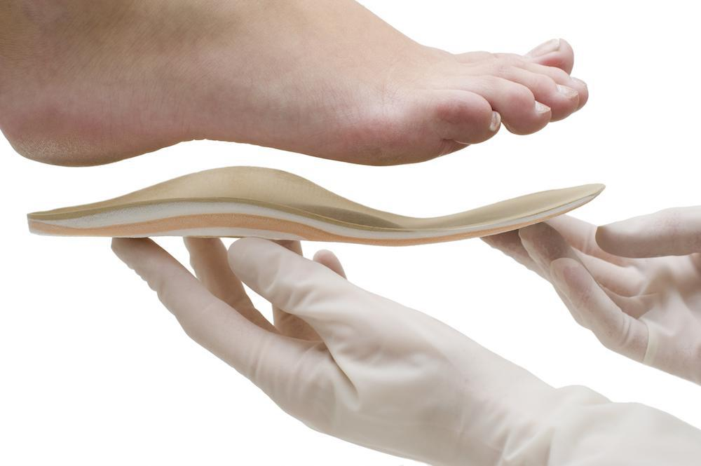 Arch Supports in Orthotics Relieve Foot Pain