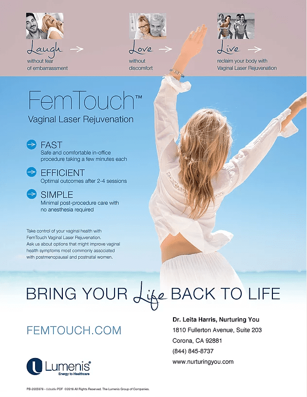 flyer for femtouch