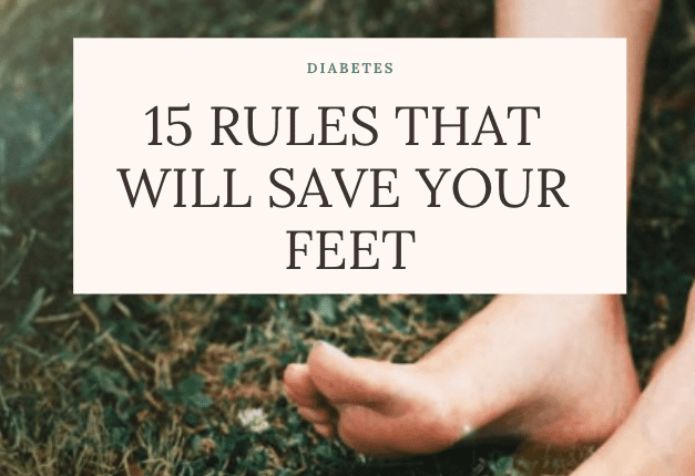 15 Rules For Preventing Diabetic Foot Problems Neuhaus Foot