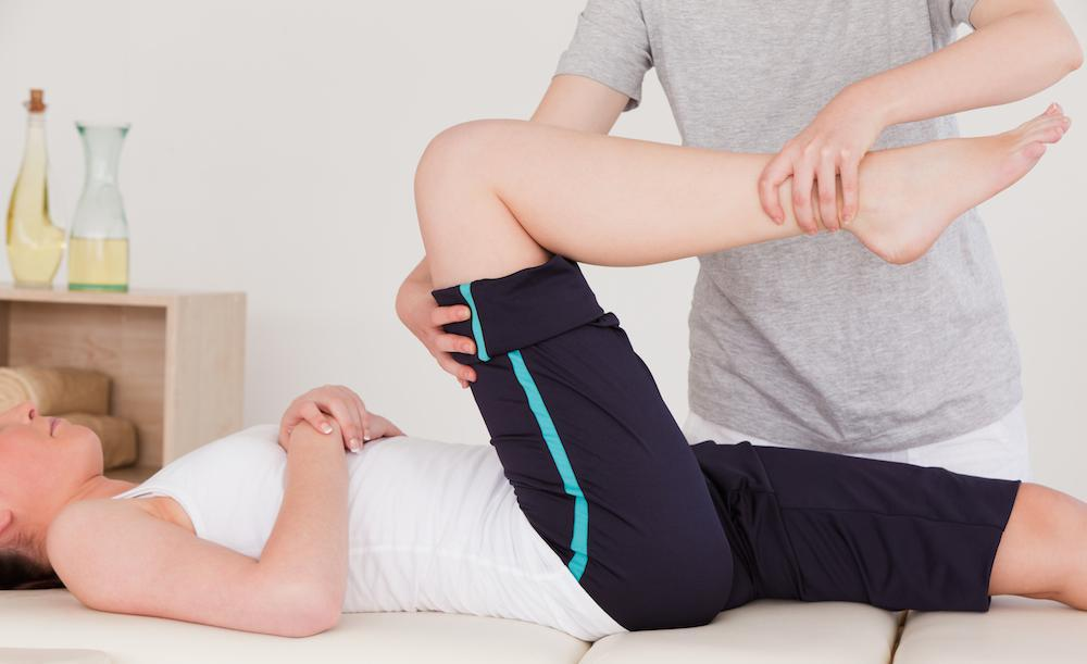 Physical therapy is key in recovery after hip surgery.