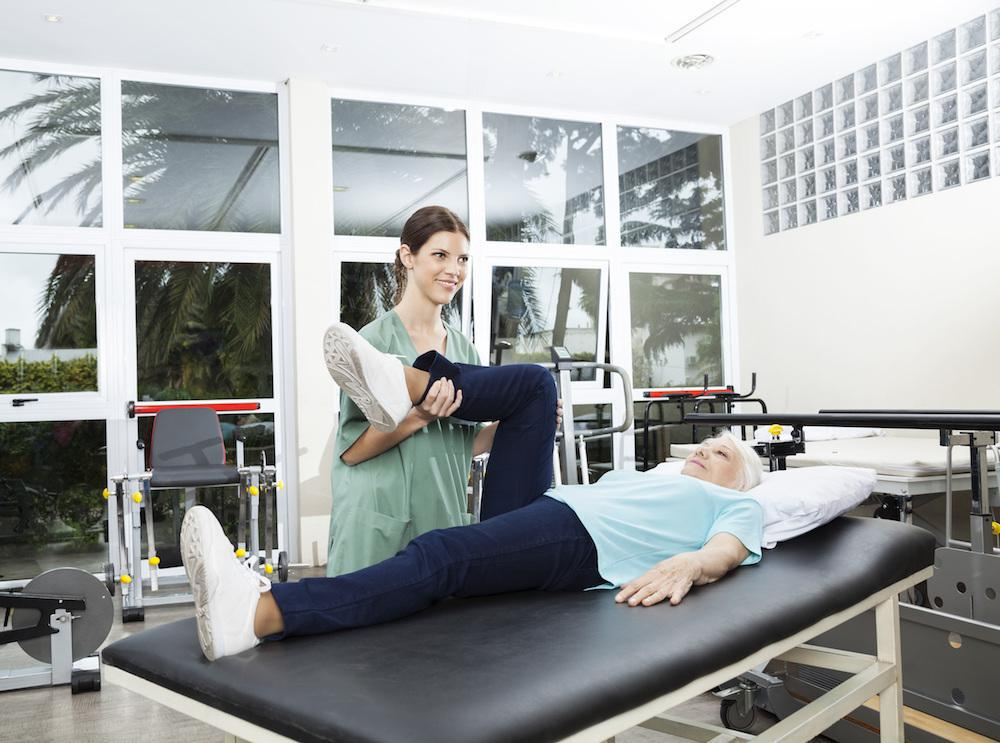 Physical therapy helps with arthritis mobility.