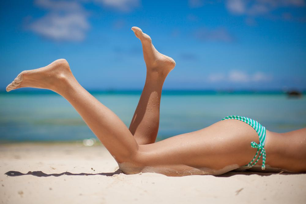 Laser hair removal means no more shaving and waxing.