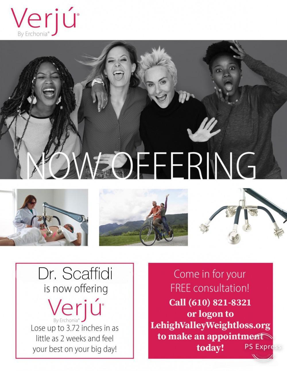 Verju Body Sculpting - lose inches & no pain