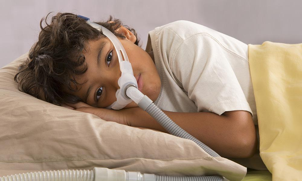 child with sleep apnea