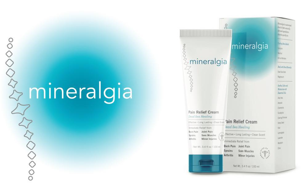 Mineralgia Pain Relief Cream