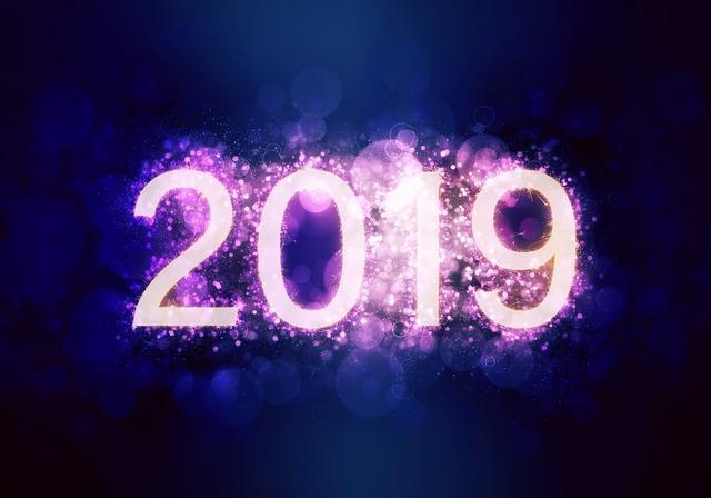 2019 in neon