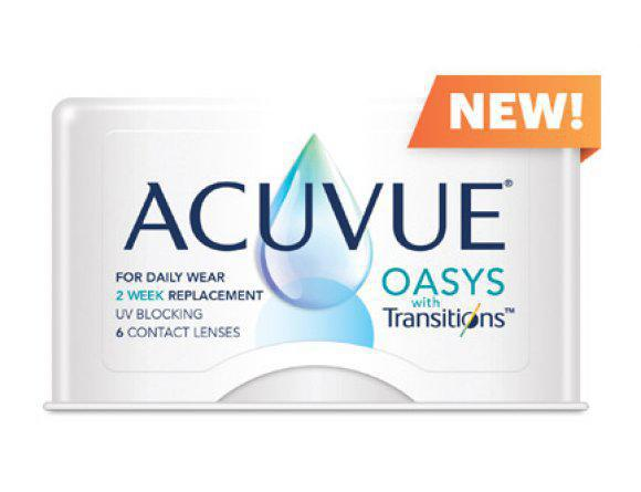 NEW: Acuvue Oasys with Transitions