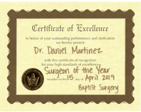 ,  Office of Daniel R. Martinez, MD).'