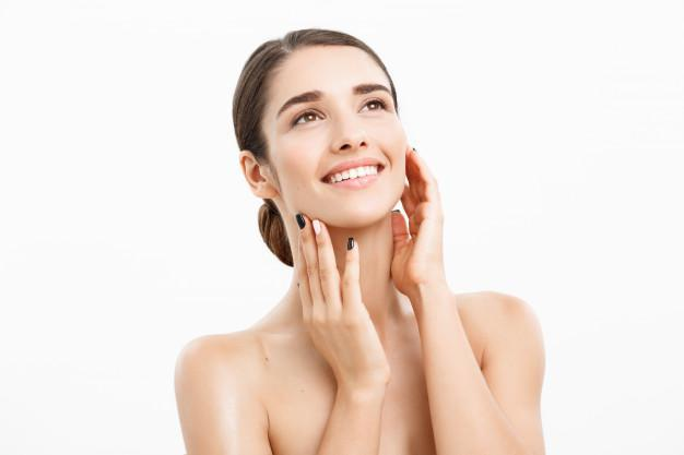 Microneedling with PRP, treating minor signs of aging,