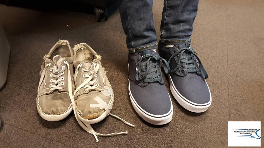 Old Shoes vs. New Shoes