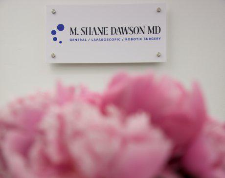 M Shane Dawson sign