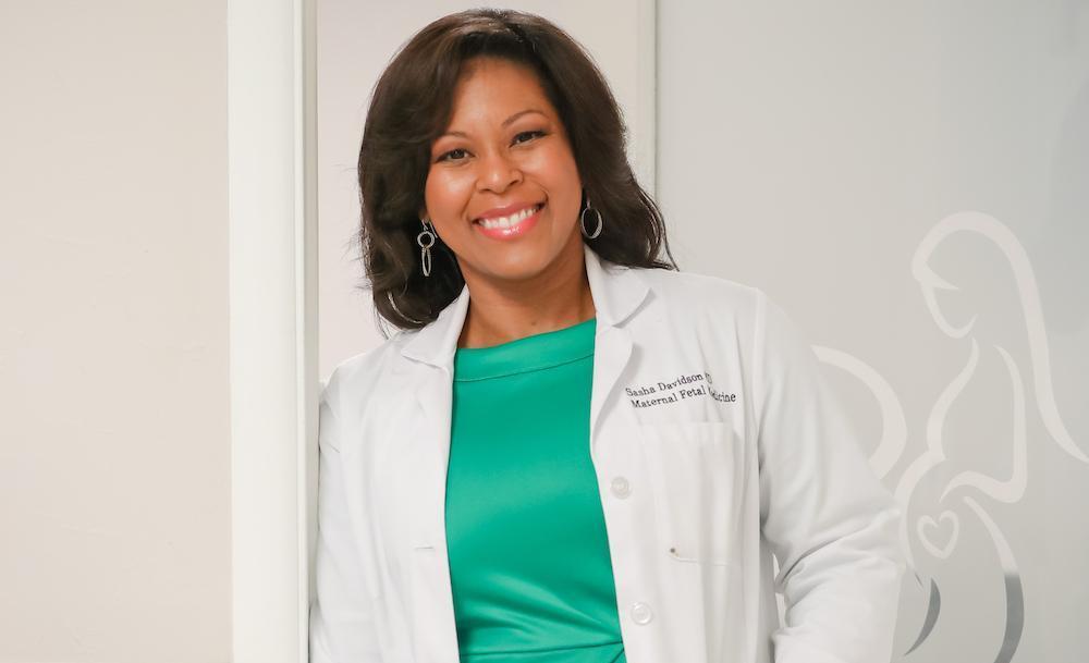 Meet Dr  Sasha Davidson: Sasha Davidson, MD, FACOG: Perinatal Specialist