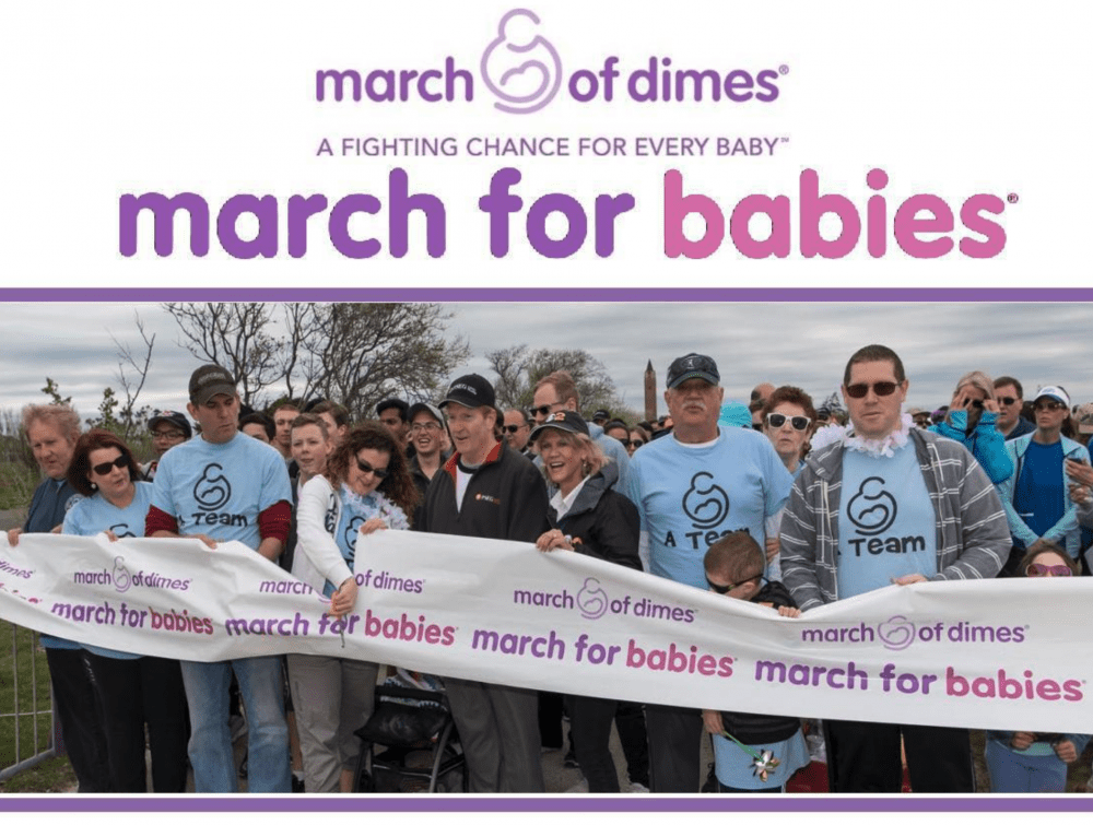 march for babies image group photo