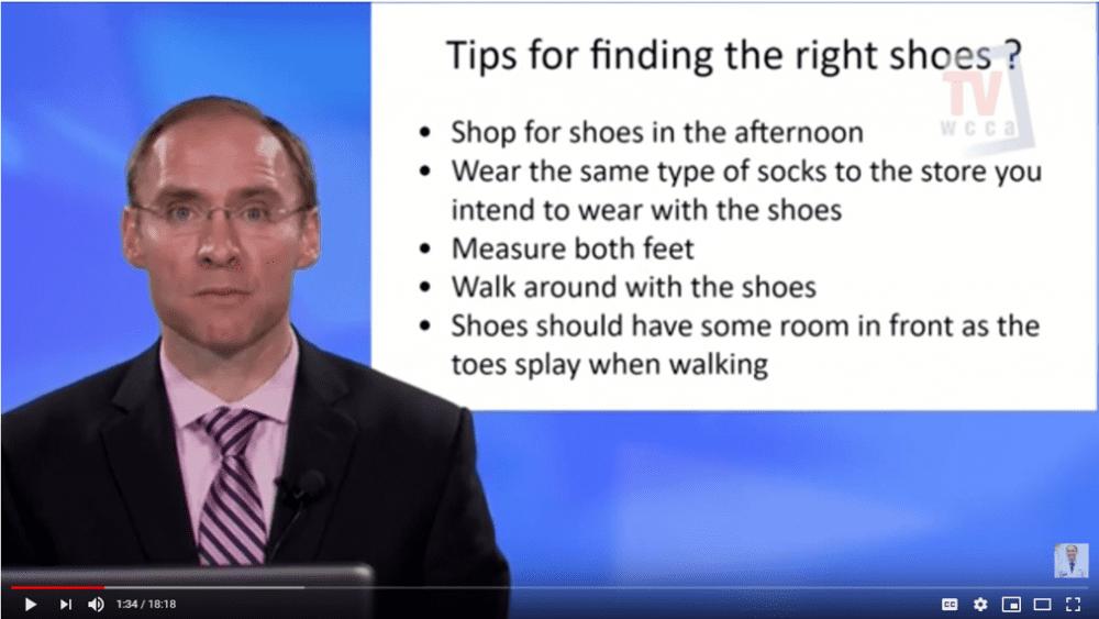Diabetic Shoe Fitting Tips