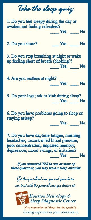 Sleep Medicine - Houston, TX & The Woodlands, TX: Houston Neurology