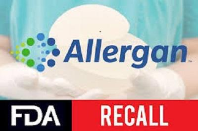 Allergan BIOCELL textured breast implant recall