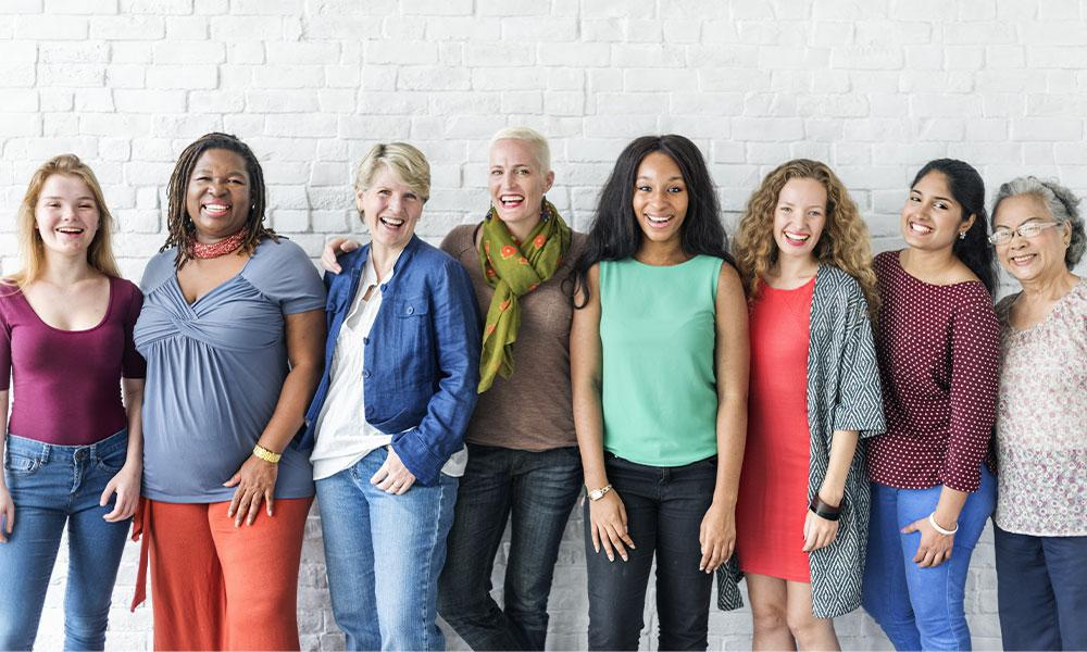 Image of a group of women.