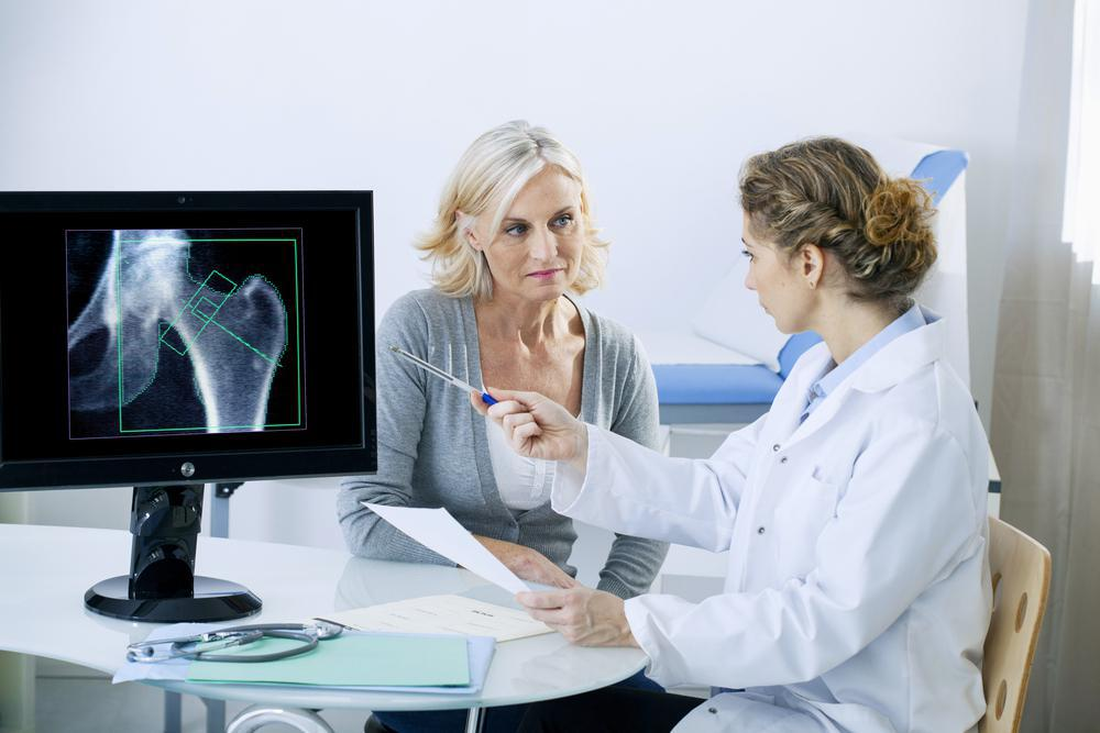 Did you know that osteoporosis can cause kyphosis, or curvature of the spine?