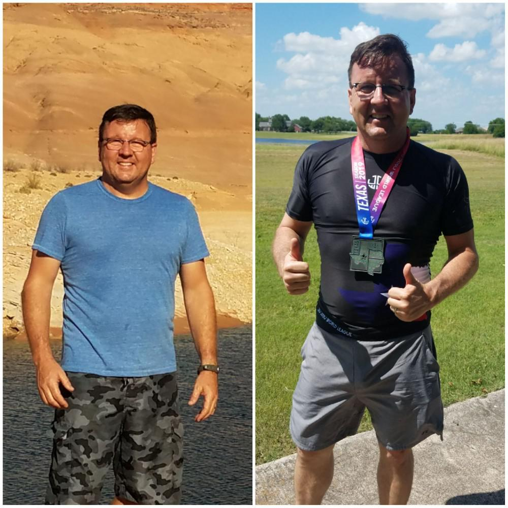 Dan lost over 35 pounds on LeanMD