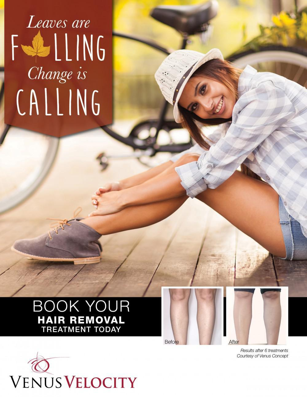 Fall Hair Removal