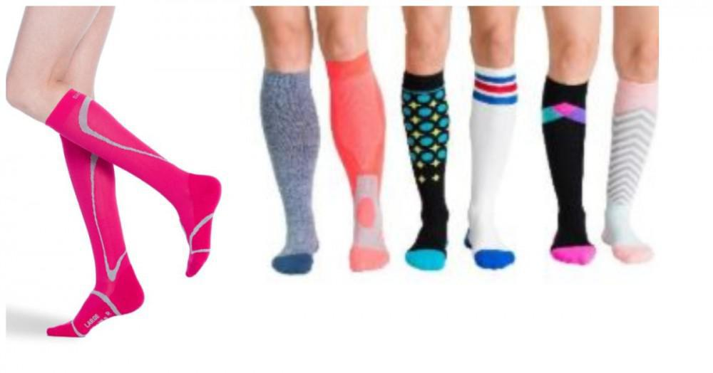 A Variety of Compression Stockings