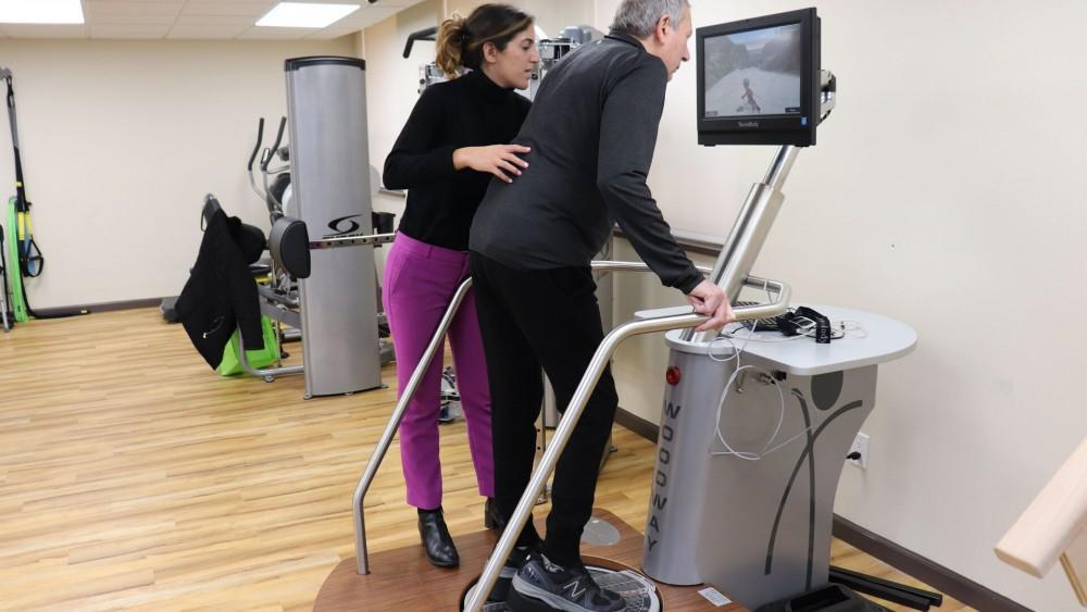 Virtual Reality Balance Training