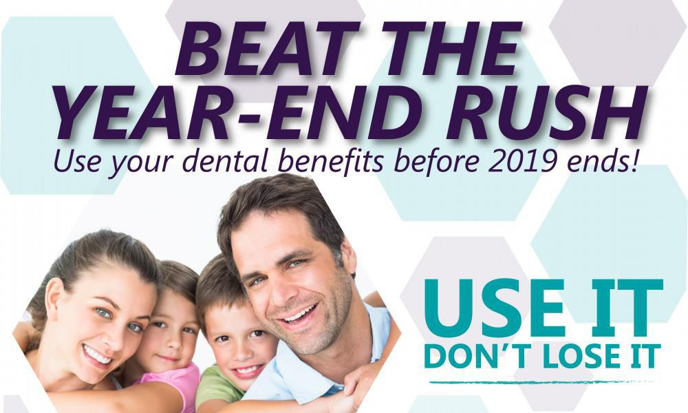 Beat the year-end rush!