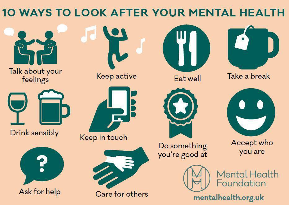Ways to look after Mental Health