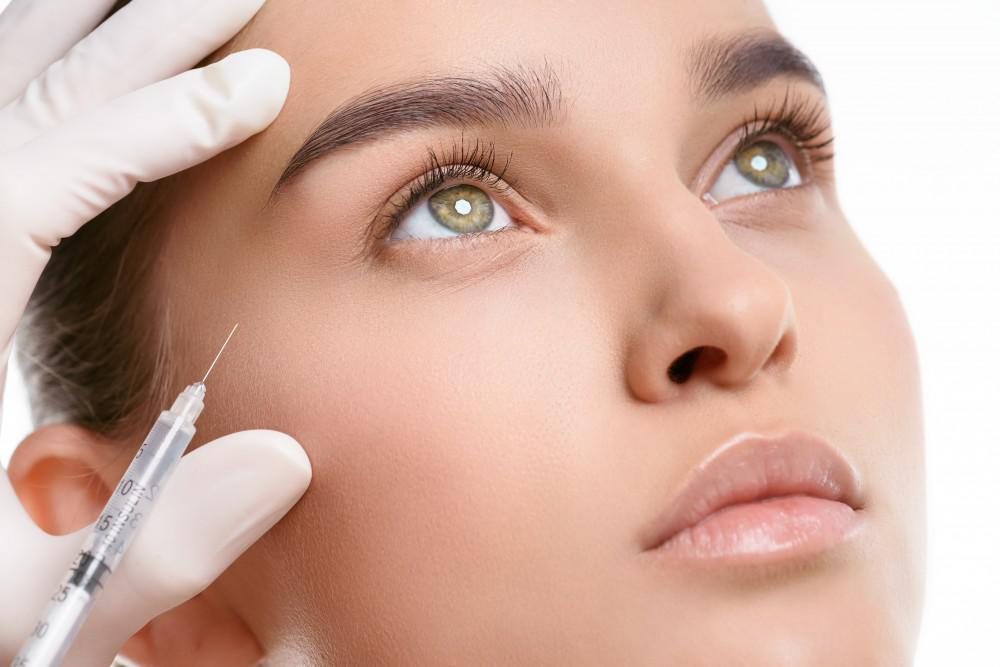 Botox facial rejuvenation