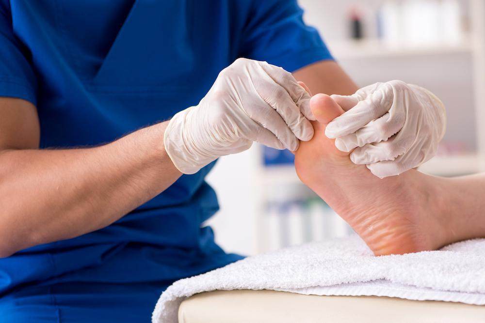 With November being Diabetes Awareness Month, now's the time to give us a call for more information on diabetic foot care or