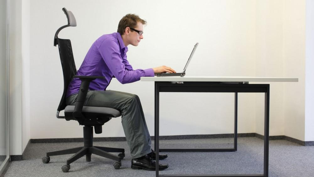 Slouching has a bad affect on your over health and is a contributor to your physical pain.