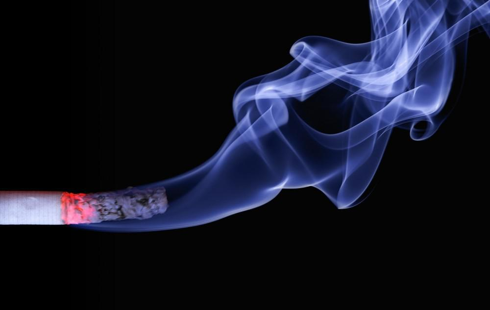 Smoking can cause worsening eye problems