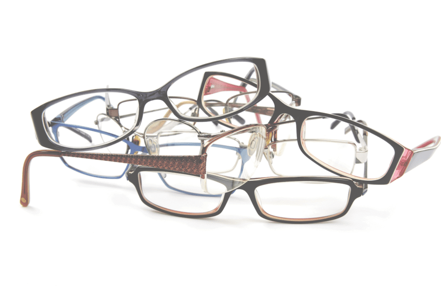 Donate old glasses