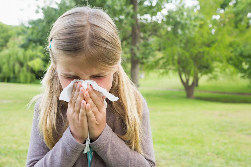 Fall is a time for beautiful, crisp weather and seasonal delights. But it's also a time for allergy and asthma flare-ups. Her